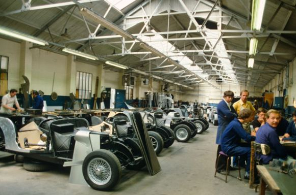 Morgan Car Factory Malvern