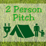 2 Person Pitch - Family Field - with ELEC hook-up