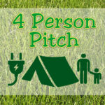 4 Person Pitch - Family Field - with ELEC hook-up