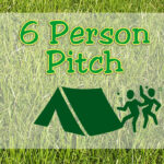 6 Person Pitch - On The Go Field - without ELEC hook-up